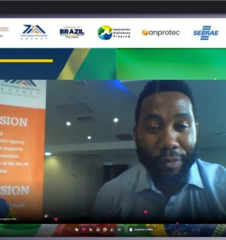 Cerimônia de encerramento da semana de incubação cruzada virtual Brasil-África do Sul tem participação de Ndaba Mandela